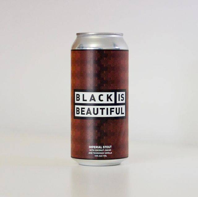 Black is Beautiful beer created by Left Handed Giant brewery