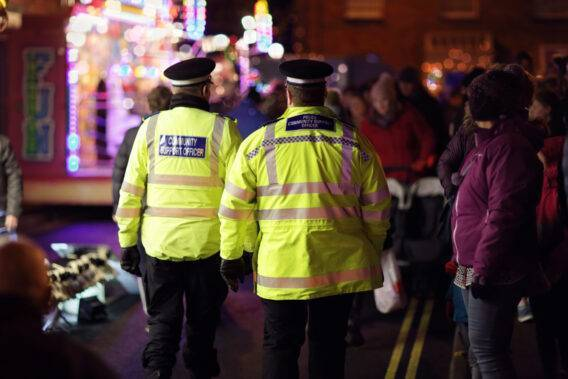 British Police Community Support Officer